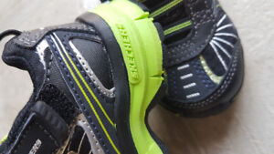 Brand New Sketchers boys kids running shoes. Black and green