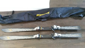 K2 Impulse Downhill Alpine Skis 168 cm (with ski bag and poles!)