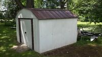 metal shed 10 x 10 ft