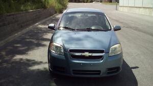 2007 Chevrolet Aveo Sedan