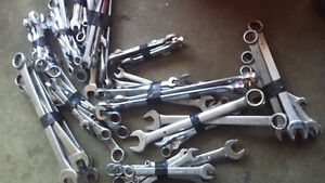 Assorted wrenches for sale