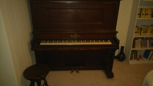 Heintzman & Co. Upright (Grand?) Piano