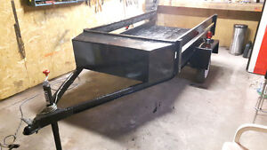54.5 inch by 8ft utility trailer for sale