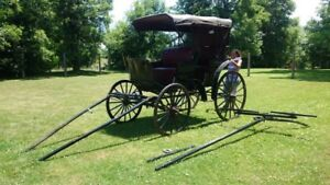 Original McLaughlin Surrey Carriage