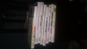Wii console,  with wii fit, 3 controllers,  7 games, gun, hoc Kitchener / Waterloo Kitchener Area image 2