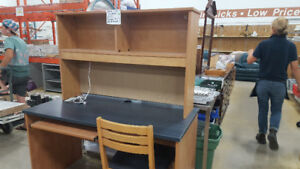 Desk w/ Chair at Cambridge ReStore *Great for students*