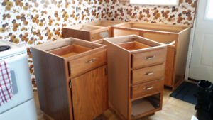 Lower Cabinets for Cabin or Garage