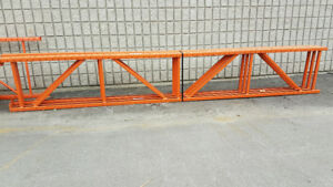 "USED REDI-RACK END FRAMES 28"" X 16'. RACKING UPRIGHTS. USED RACK"