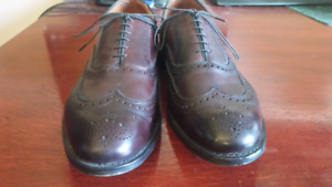 Allen Edmonds McAllister 10 1/2 EEE oxblood red
