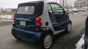2006 Smart Fortwo cuir Cabriolet air climatiser