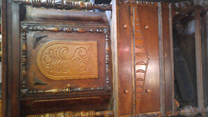 Beautiful antique hutch for sale!