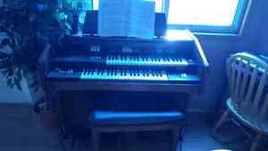 Elka Organ and Seat