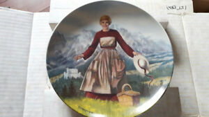 Complete 1980's~ SOUND OF MUSIC - Julie Andrews Collector Plates