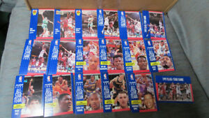1991 Fleer NBA All-Star cards(19)