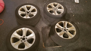 USED BMW X6 WINTER RIMS & TIRES  SIZE: 255/50 R19 PERFEC FOR BMW