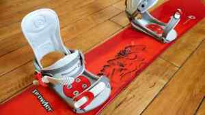 Red Rossignol board bindings &bag152cm Planche a Neige &Fixation