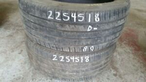 Pair of 2 Michelin Primacy MXM4 225/45R18 tires (40% tread life)