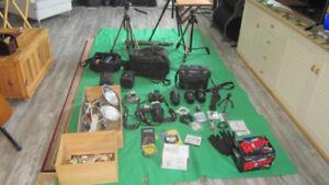 Équipement complet pour photographe amateur!