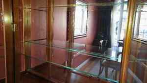 Dining table with cabinet/hutch London Ontario image 7