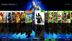 Modded Xbox 360 - Play any game for free!