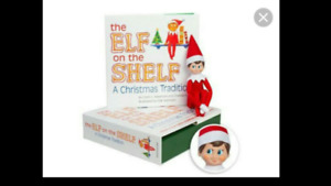 Elf on the shelf boy and book kit