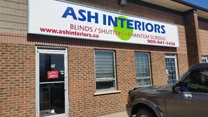Ash Interiors Blinds, Shutters and Phantom Screens