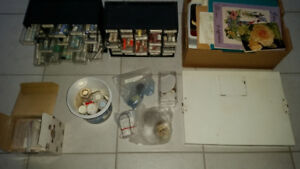Two boxes of China Painting Supplies