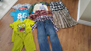 8 yrs old boy Summer and Fall clothes
