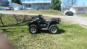 2009 CANAM ATV 650 OUTLANDER