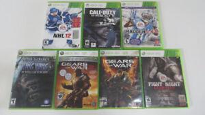 7 Jeux de Xbox 360