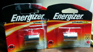 Two CR2 Lithium batteries