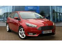 2015 Ford Focus 1.0 EcoBoost 125ps Titanium 5dr SHOWROOM NOW FULLY OPEN FOR TEST