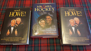 GORDIE AND COLLEEN HOWE AUTOGRAPHED BOOK - Your choice.