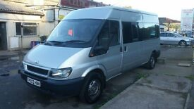 Ford transit minibus 15 seater 10 months mot new flywheel + clutch kit