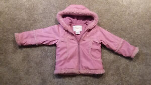 Rothschild Girls Mauve Jacket in size 5-6