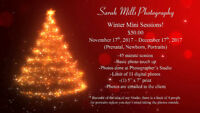 Winter Mini Sessions Available!! $50