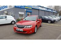 Subaru Impreza 2.0R AWD (red) 2009