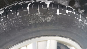 $50 two nice four season tires PRIMEWELL PS830 225/60R17  (8/32)