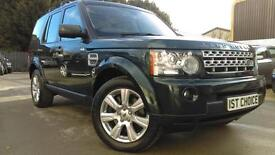 2012 LAND ROVER DISCOVERY 4 SDV6 HSE SD 255 STUNNING GALWAY GREEN WITH CREAM
