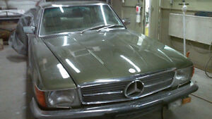 1978 MERCEDES 450 SLC FOR SALE