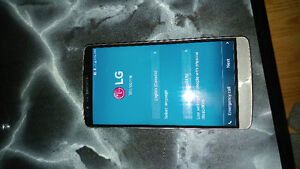 Lg g3 with case and charger
