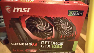 MSI Gaming X Nvidia Geforce GTX 1080 8GB NEW