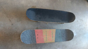 Used skateboards good condition