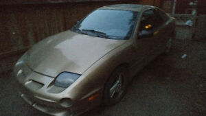 2000 Pontiac Other Gold sunfire gt Coupe (2 door)