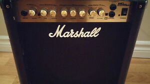 Marshall MG15DFX (15 watt) guitar combo