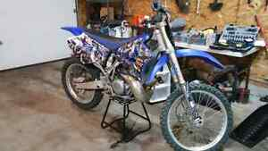 Yamaha yz250 2 stroke dirt bike