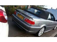 Bmw 318 ci convertible Very good car £3250