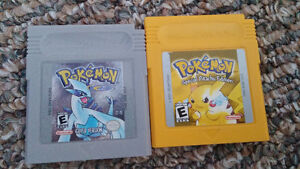 2 awesome POKEMON games.   $20 each firm