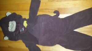 Monkey Halloween costume for 18 mo size fit, perfect condition,