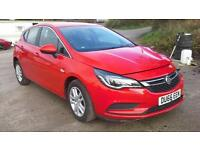 2016 66 Vauxhall Astra 1.0i Turbo Tech Line DAMAGED SPARES OR REPAIR SALVAGE